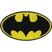 "Batman Logo 4""X2.25"" - DC Comics Patch"