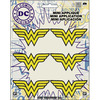 "Wonder Woman Insignia 2.25""X1"" 6/Pkg - DC Comics Patch"