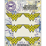 "Wonder Woman Insignia 2.25""X1"" 6/Pkg - DC Comics Patch"
