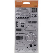 Up In The Air - Fiskars Clear Stamp