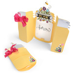 Sizzix Thinlits Dies 7/Pkg -Fold - A - Long Jar