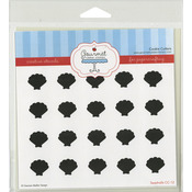 """Sea Shells - Gourmet Rubber Stamps Stencil 6""""X6"""""""