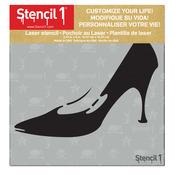 """Stiletto - Stencil1 6""""X6"""" Stencil"""
