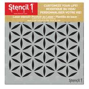 """Moroccan Petal - Stencil1 6""""X6"""" Stencil"""