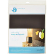"Silhouette Printable Magnet Paper 8.5""X11"" 4/Pkg"