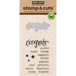 Congrats - Hero Arts Stamp & Cuts