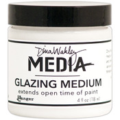 Dina Wakley Media Glazing Medium 4oz Jar