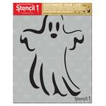 "Ghost - Stencil1 8.5""X11"" Stencil"
