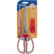 """Red - All Purpose Shredder Scissors 8"""""""