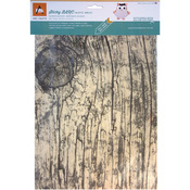 "Rustic White Birch - BARC Wood Sheet W/Adhesive Backing 8.5""X11"""
