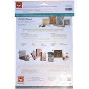 "White Birch - BARC Wood Sheet W/Paper Backing 8.5""X11"""