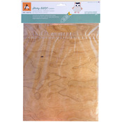 "Cherry - BARC Wood Sheet W/Adhesive Backing 8.5""X11"""