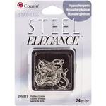 Fishhook Earwire 24/Pkg - Stainless Steel Elegance Beads & Findings