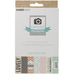 Necessities Captured Moments Double - Sided 6 x 4 Cards - KaiserCraft - PRE ORDE