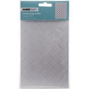 """Checker Plate - Kaisercraft Embossing Folder 4""""X6"""""""