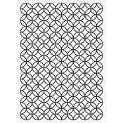 Stained Glass Kaisercraft Embossing Folder