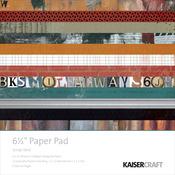 Scrap Yard 6.5 x 6.5 Paper Pad - KaiserCraft
