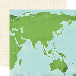 World Map Paper - Travel Stories - Carta Bella