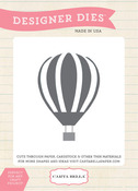 Up Up And Away Balloon Die - Carta Bella