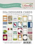 Getaway 3 x 4 Journal Cards - Echo Park