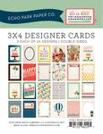Celebration 3 x 4 Journal Cards - Echo Park