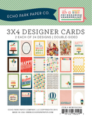 Celebration 3 x 4 Journal Cards - Echo Park
