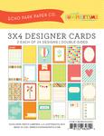 Sweet Summertime 3 x 4 Journal Cards - Echo Park