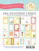 Hello Summer 3 x 4 Journal Cards - Echo Park