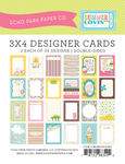 Summer Lovin 3 x 4 Journal Cards - Echo Park