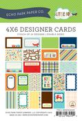 Little Boy 4 x 6 Journal Cards - Echo Park