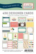 Celebration 4 x 6 Journal Cards - Echo Park