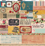 Juliet Combo Sticker Sheet - Bo Bunny