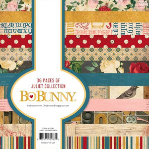 Juliet 6 x 6 Paper Pad - Bo Bunny