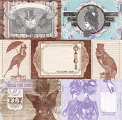 Copper Tiles Paper - Penny Emporium - Bo Bunny