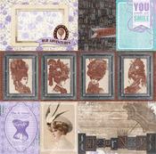 Portraiture Paper - Penny Emporium - Bo Bunny
