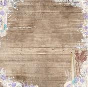 Woodworks Paper - Penny Emporium - Bo Bunny