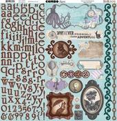 Penny Emporium Combo Stickers - Bo Bunny