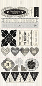 Everlasting Love Die Cuts - Authentique