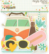 Summer Vibes Bits & Pieces Die-Cuts - Simple Stories