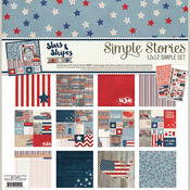 Stars And Stripes Collection Kit - Simple Stories