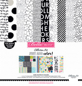 """Just Add Color - Bella Blvd Collection Kit 12""""X12"""""""