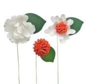 White Daisy Petal Strips - Little B