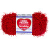 Cherry - Red Heart Scrubby Yarn Coats Yarn-Red Heart Scrubby Yarn. This textured yarn will make scrubbing dirty pots a lot easier than regular dishcloth cotton. Knit or crochet your way to clean. Weight category: 4. Content: 100% polyester. Putup: 3.5oz/100g, 92yds/85m. Gauge: 16s x 21r = 4in/10cm on size US8/5mm knitting needles. Crochet: 13sc x 15r = 4in/10cm with size I-9/5.5mm crochet hook. Care: machine was cold gently cycle, tumble dry, do not bleach or iron, dry clean with P solvents only. Comes in a variety of colors. Each sold separately. Imported.