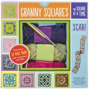 Granny Squares Scarf Kit