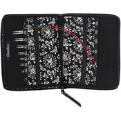 """Small - TWIST Red Lace Interchangeable Knitting Needle 4"""" Tip Set"""
