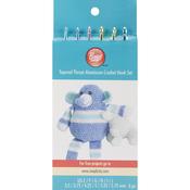 Sizes E4 To J10 - Aluminum Crochet Hook Set