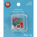 20/Pkg - Stitch Marker Rings