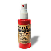 Stencil1 Sprayers Day - Glow Colors 2oz - Red