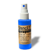 Stencil1 Sprayers Day - Glow Colors 2oz - Blue