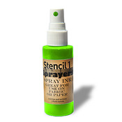 Stencil1 Sprayers Day - Glow Colors 2oz - Green